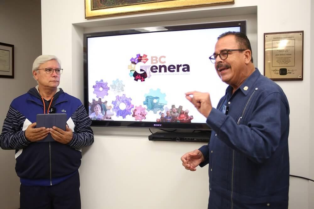 El Gobernador Jaime Bonilla y el Secretario de Economía no suelen usar cubrebocas