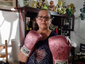 Betty Vázquez, esposa del Shrek de Tijuana