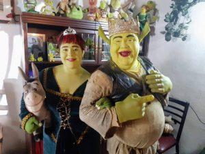 Shrek de Tijuana y su hija