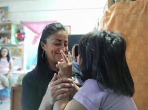 Perla Rubio es madre de familia y compartió su testimonio