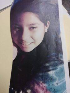 Arely Daniela García Abad, 11 años.