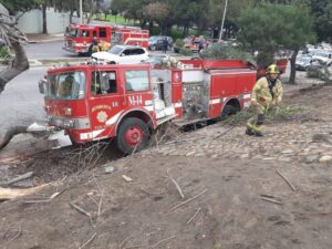 Accidente de Bomberos en Tijuana