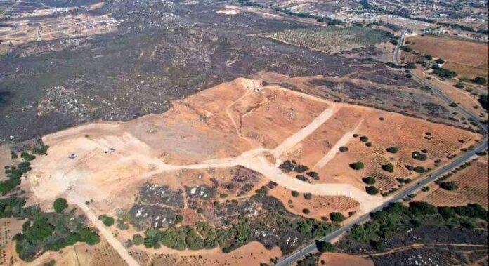 Retiraron la naturaleza en 25 hectáreas del Valle de Guadalupe